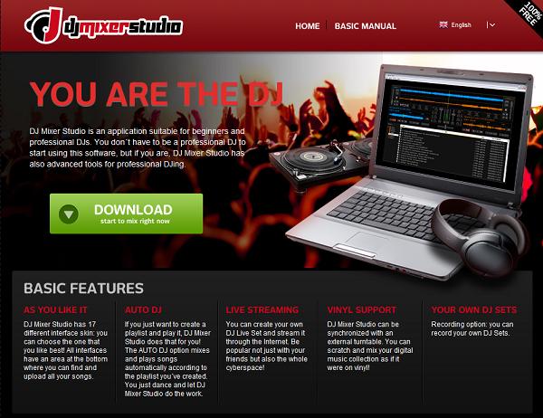 dj-mixer-studio