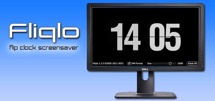 fliqlo-clock-screensaver